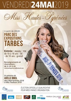 Élection Miss Hautes-Pyrénées 2019